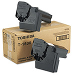 Toshiba Copier Toner Cartridge for Model E Studio 16, Black, 2/Carton