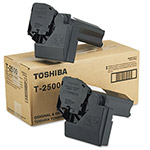 Toshiba Copier Toner Cartridge for Model E Studio 20, 25, 25S, Black, 2/Carton