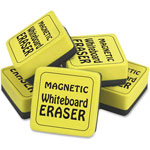 "The Pencil Grip WB Eraser, Magnetic, 2""Wx1/2""Lx2""H, YW"