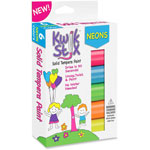 The Pencil Grip Kwik Stix Solid Tempera Paint, 6/PK, Neon