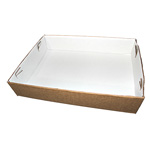 "Honeymoon Paper Snobrite Tray, 18"" x 13"" x 3.5"""