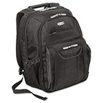 "Targus Zip-Thru™ Air Traveler Backpack, Fits 15.8"" Widescreen Laptop, Polyester, Black"