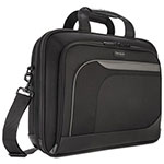 "Targus 15.4"" Mobile Elite Checkpoint-Friendly Topload, 4-1/2 x 15-3/4 x 12-1/2, Black"