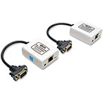 Tripp Lite VGA Over Cat5/Cat6 Extender Kit, White/Blue Black