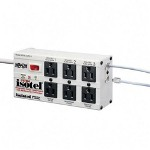 Tripp Lite  ISOTEL6ULTRA Isobar® Isotel Ultra 6 Premium SurSuppressor, 6 Outlet, 6 ft. Cord