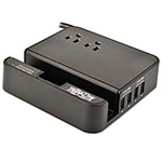 Tripp Lite Protect It! Two-Outlet Portable Surge Suppressor, 6 ft, 1080 Joules, Black