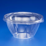 Inline Plastics Safe-T-Fresh PET Tamper Resistant 12oz Round Clear Container