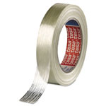 "Tesa Tapes Economy Grade Filament Strapping Tape, 3/4"" x 60yd, Clear"