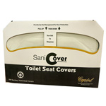 Sanicover Half Size Toilet Seat Covers