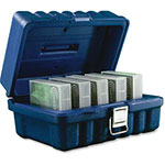 "Turtle Case Turtle LTO Storage Case, 5 Cap, 8-1/4"" x 11-1/4"" x 5-1/2"", BE"
