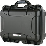 "Turtle Case Teraturtle 10LTO Tape Case, 10"" x 12-1/2"" x 6"", Black"