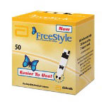 Therasense Freestyle Test Strips 50 per Box