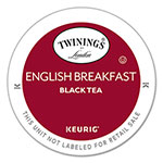 Twinings Tea K-Cups, English Breakfast, 0.11 oz K-Cups, 24/Box