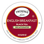 Twinings Tea K-Cups, English Breakfast Decaffeinated Tea, 0.11 oz K-Cups, 24/Box