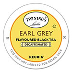 Twinings Tea K-Cups, Earl Grey Decaffeinated Tea, 0.11 oz K-Cups, 24/Box