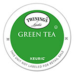 Twinings Tea K-Cups, Green Tea, 0.11 oz K-Cups, 24/Box