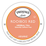 Twinings Tea K-Cups, Rooibos Tea, 0.12 oz K-Cups, 24/Box