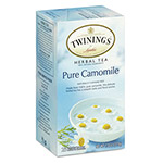 Twinings Tea Bags, Pure Camomile, 1.76 oz, 25/Box