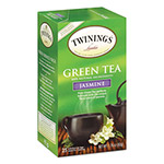 Twinings Tea Bags, Green with Jasmine, 1.76 oz, 25/Box