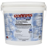 "2XL Antibacterial Gym Wipes Bucket, 6"" x 8"", 700Sheets, White"