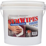 "2XL GymWipes Prof Towelettes Bucket, 6"" x 8"", 700Sheets, WE"