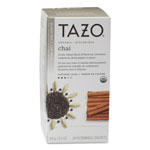 TAZO® Chai Organic Black Tea, Filter Bag, 24/Box