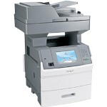 Lexmark X 654DE Monochrome Multifunction Laser Printer (Fax/Copier/ Printer/ Scanner)