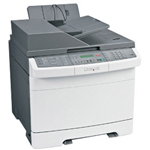 Lexmark X 544N Color Multifunction Laser Printer (Fax/Copier/ Printer/ Scanner)