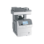 Lexmark X 738DE Color Multifunction Laser Printer (Fax/Copier/ Printer/ Scanner)