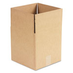 General Brown Corrugated - Cubed Fixed Depth Boxes, 10l x 10w x 10h, Brown, 25/Bundle