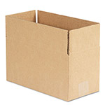General Brown Corrugated - Fixed Depth Boxes, 6l x 12w x 6h, 25/Bundle