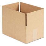 General Brown Corrugated - Fixed Depth Boxes, 8l x 12w x 6h, 25/Bundle