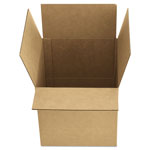 General Brown Corrugated - Fixed-Depth Shipping Boxes, 12l x 9w x 6h, 25/Bundle