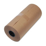 "United 40 lb. Mediumweight 9"" Dia. Brown Kraft Wrapping Paper Roll, 18""w x 900 ft."