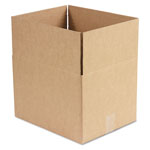 General Brown Corrugated - Fixed Depth Boxes, 12l x 15w x 10h, Brown, 25/Bundle
