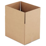 General Brown Corrugated - Fixed Depth Boxes, 12l x 16w x 12h, Brown, 25/Bundle