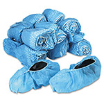 United Disposable Shoe Covers, Blue Nonwoven Polypropylene, 150 per Carton