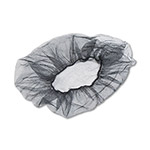 "United Nylon 18"" Hair Net, Black, 100 Nets per Bag"
