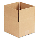 General Brown Corrugated - Fixed Depth Boxes, 8l x 8w x 6h, Brown, 25/Bundle
