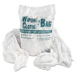 United Bag-a-Bags Shop Rags, White, Bag