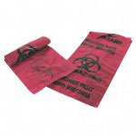 Unimed-Midwest Infectious Waste Bags, 1 Gallon, Red