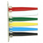 Unimed-Midwest Exam room Signal, 6 Flags, Red/White/Green/Yellow/Blue/Black