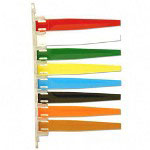 Unimed-Midwest Exam room Signal, 8 Flags, Red/White/Green/Yellow/Blue/Black/Orange/Brown