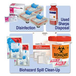Unimed-Midwest Essential OSHA Compliance Kit, 13 Pieces, 16 x 16 x 12