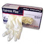 Unimed-Midwest MCPP049304 Medium Lightly Powered Latex Exam Gloves