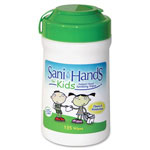 Unimed-Midwest Sanitizing Wipes Canister, Each