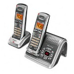 Uniden DECT2080 2 Cordless Digital Telephone System, 1.9 GHz, Silver