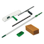 Unger Pro Window Cleaning Kit with 8' Pole