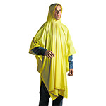 Unisan Disposable Rain Poncho, One Size Fits All