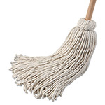 Unisan 32 oz. Deck Mop with Wooden Handle